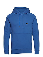 Throw Hood Ring loop sweat - WORK BLUE