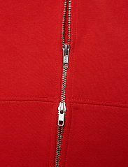 Throw Zip Hood Ring loop sweat