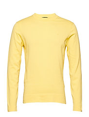 Niklas R-Neck Refined Cotton - BUTTER YELLOW