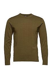 Niklas R-Neck Refined Cotton - IVY GREEN