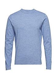 Niklas R-Neck Refined Cotton - WORK BLUE
