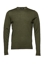 Newman C-Neck Perfect Merino - IVY GREEN