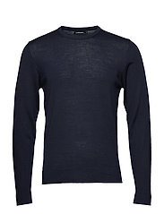 Newman C-Neck Perfect Merino - JL NAVY