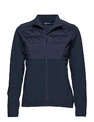 W Season Hybrid Jacket - JL NAVY