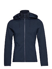 W LOUNA TECH SWEAT - NAVY MELANGE