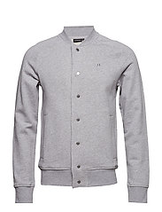 Jasper Sweat Structure - LT GREY MELANGE