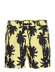 Banks Pattern Swim - BUTTER YELLOW