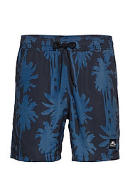 Banks Pattern Swim - WORK BLUE