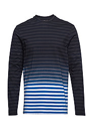 Charlie Plain Stripe - WORK BLUE