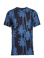 Silo Printed Supima Jersey - WORK BLUE