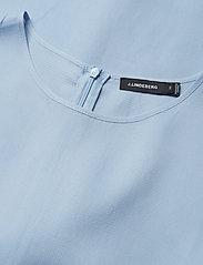 J. Lindeberg - Embla Sheer Crepe - short dresses - ice flow - 2