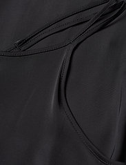 J. Lindeberg - Joni Liquid Satin - midi dresses - black - 3