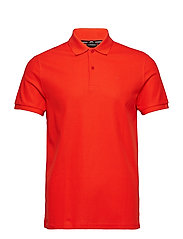 Troy Clean Pique - POPPY RED