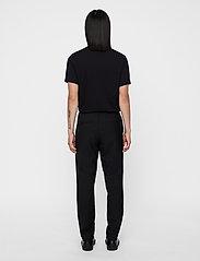 J. Lindeberg - Silo Jersey Tee - basic t-shirts - black - 4