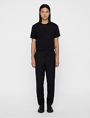 J. Lindeberg - Silo Jersey Tee - basic t-shirts - black - 5