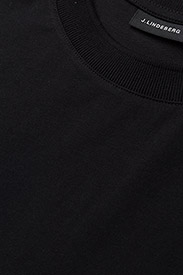 J. Lindeberg - Silo Jersey Tee - basic t-shirts - black - 3