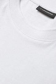 J. Lindeberg - Silo Jersey Tee - basic t-shirts - white - 3