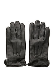 Bono-Leather Glove - BLACK
