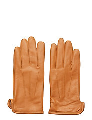 Bono-Leather Glove - COGNAC