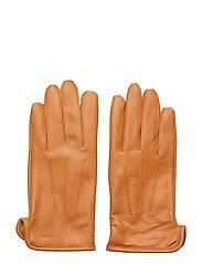 Bono-Leather Glove - COGNAC