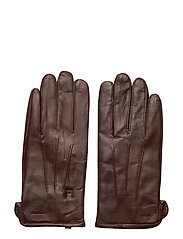 Bono-Leather Glove - DARK MOCCA