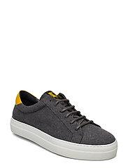 LT Sneaker-Flannel Wool - GREY MELANGE
