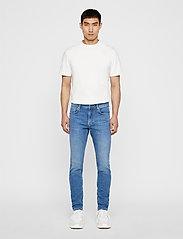 J. Lindeberg - Damien-Broken - skinny jeans - mid blue - 4