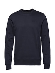 Throw c-neck-Clean sweat - JL NAVY