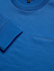 J. Lindeberg - Throw c-neck-Clean sweat - basic sweatshirts - yale blue - 2