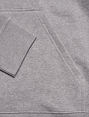 J. Lindeberg - Throw Hood-Clean sweat - basic sweatshirts - grey melange - 3