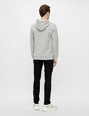 J. Lindeberg - Throw Clean Sweat Hoodie - basic-sweatshirts - grey melange - 3
