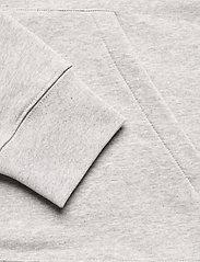 J. Lindeberg - Throw Clean Sweat Hoodie - basic-sweatshirts - grey melange - 4