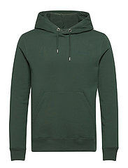 Throw Clean Sweat Hoodie - HUNTER GREEN