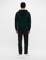 J. Lindeberg - Throw Clean Sweat Hoodie - basic-sweatshirts - hunter green - 3