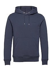 Throw Clean Sweat Hoodie - JL NAVY