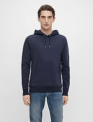 J. Lindeberg - Throw Clean Sweat Hoodie - basic-sweatshirts - jl navy - 0