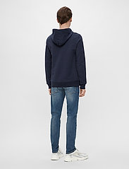 J. Lindeberg - Throw Clean Sweat Hoodie - basic-sweatshirts - jl navy - 5