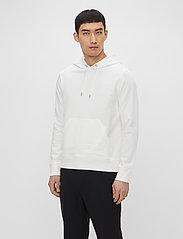 J. Lindeberg - Throw Clean Sweat Hoodie - basic-sweatshirts - white - 0