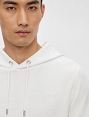 J. Lindeberg - Throw Clean Sweat Hoodie - basic-sweatshirts - white - 5