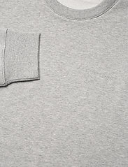 J. Lindeberg - Throw C-neck Sweatshirt - basic-sweatshirts - grey melange - 6