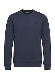 Throw C-neck Sweatshirt - JL NAVY