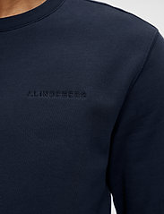 J. Lindeberg - Throw C-neck Sweatshirt - basic-sweatshirts - jl navy - 5