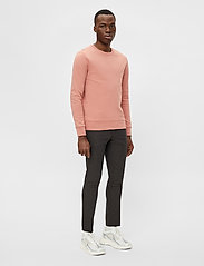 J. Lindeberg - Throw C-neck Sweatshirt - basic-sweatshirts - rose coppar - 4