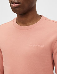 J. Lindeberg - Throw C-neck Sweatshirt - basic-sweatshirts - rose coppar - 5