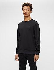 J. Lindeberg - Verge Logo Sweatshirt - basic-sweatshirts - black - 0