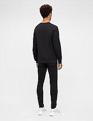 J. Lindeberg - Verge Logo Sweatshirt - basic-sweatshirts - black - 3
