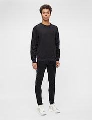 J. Lindeberg - Verge Logo Sweatshirt - basic-sweatshirts - black - 4