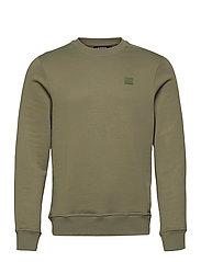 Verge Logo Sweatshirt - LAKE GREEN