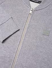 J. Lindeberg - Josef Zip Sweat Shirt - basic-sweatshirts - grey melange - 6