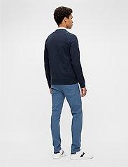 J. Lindeberg - Josef Zip Sweat Shirt - basic-sweatshirts - jl navy - 3